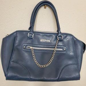 KENNETH COLE REACTION Handbag Blue Purse